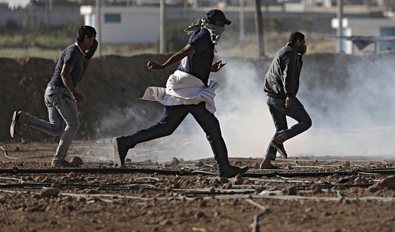 Strefa Gazy Picture: Strefa Gazy: Dziesiątki Palestyńczyków Ranionych Przez
