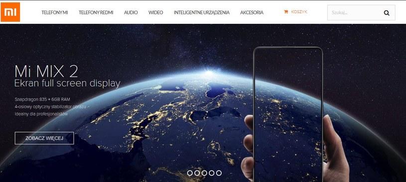 Strona główna sklepu /INTERIA.PL