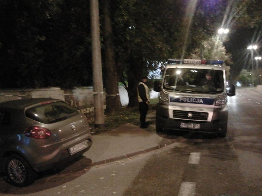 Strzały padły na terenie ogródków działkowych /Przemysław Mzyk /RMF MAXXX