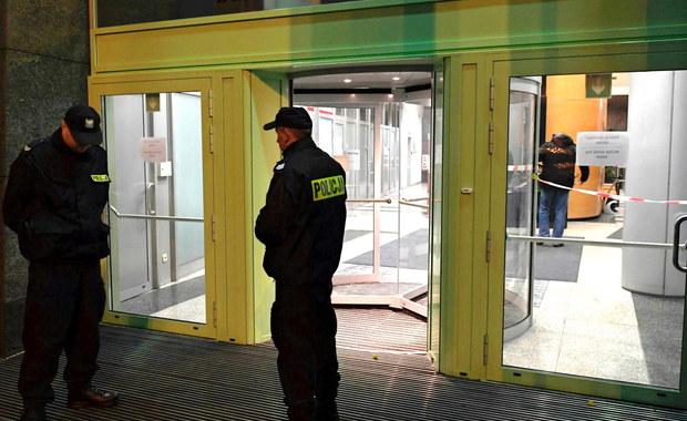 Strzały w biurze Thomson Reuters w Gdyni. 30-letni Białorusin z zarzutem
