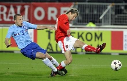 Strzela jeden z najlepszych Austriaków Andreas Ivanschitz /AFP