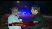 Strzelanina pod Bostonem. Policjant i jeden z podejrzanych nie żyją
