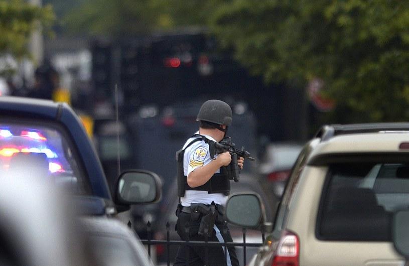 Strzelanina w Navy Yard /PAP/EPA