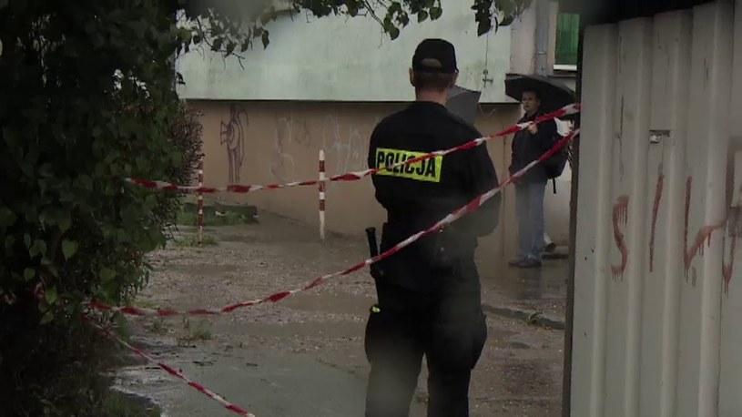 Strzelanina we Wrocławiu. Policjanci ranili uciekiniera /TVN24/x-news