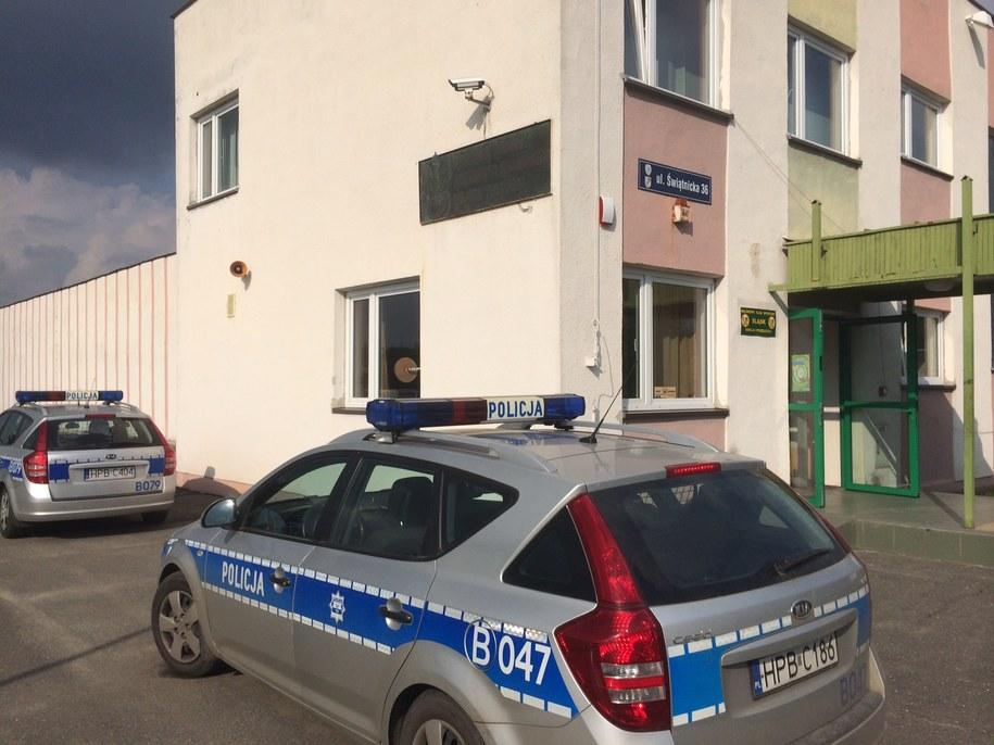 Strzelnica, gdzie doszło do tragedii /Bartłomiej Paulus /RMF FM