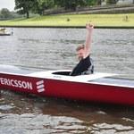 Studenci AGH zwodowali łódź solarną. Zbudowali ją na zawody w Monako