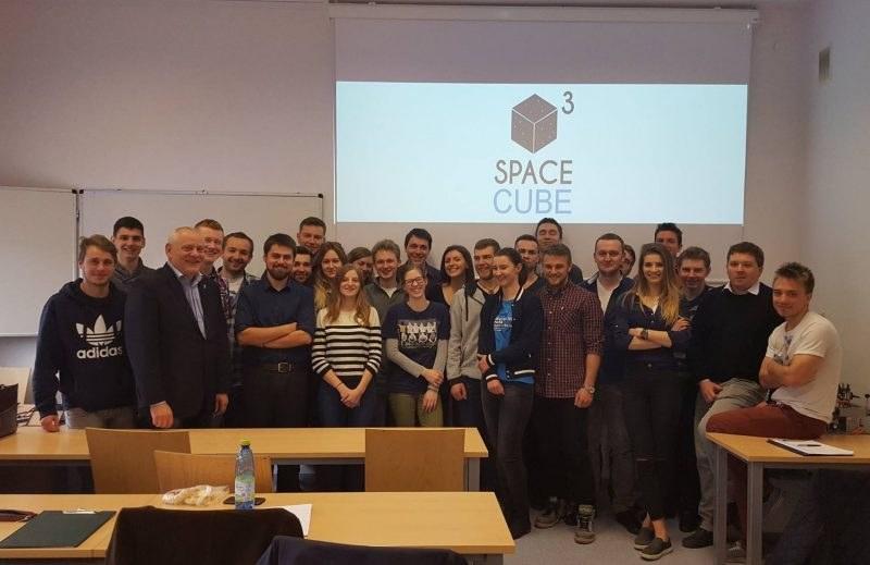 Studenci koła SpaceCube /materiały prasowe