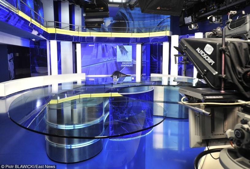 """Studio """"Wiadomości"""", zdj. ilustracyjne /BLAWICKI PIOTR /East News"""