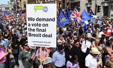 Stutysięczny marsz z żądaniem powtórki referendum ws. Brexitu