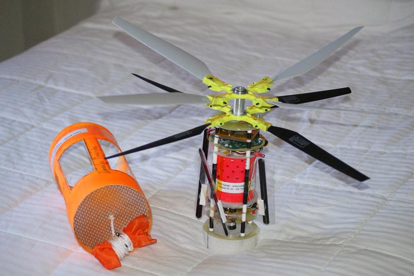 Stworzona przez studentów AGH sonda. /materiały prasowe
