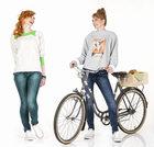Stylizacja wiosenna na rower