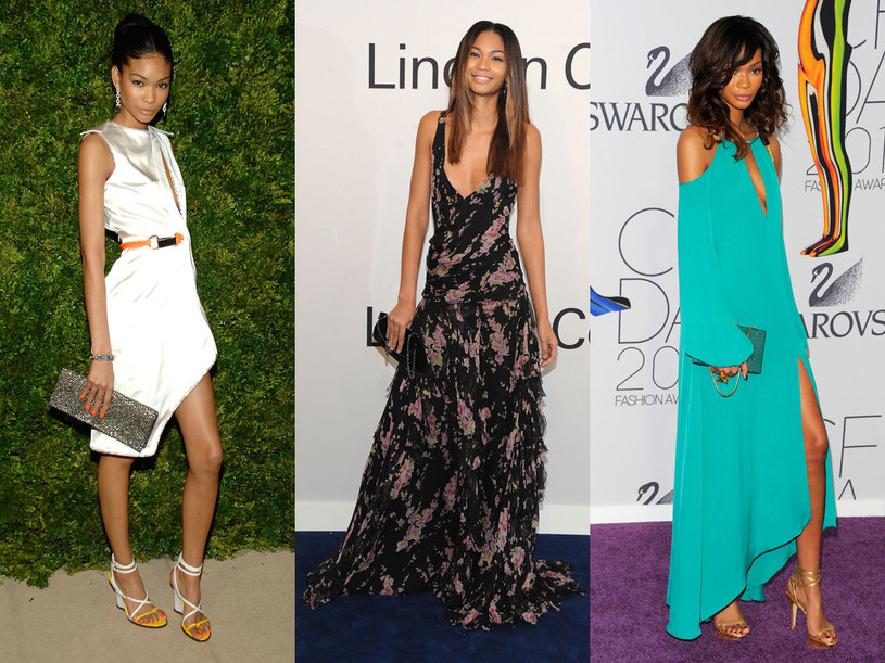Stylizacje Chanel Iman /Getty Images
