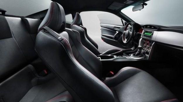 Subaru BRZ - wnętrze /Subaru
