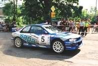 Subaru Czopika na trasie /INTERIA.PL