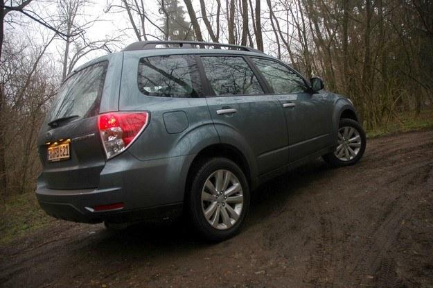 Subaru forester 2011 /INTERIA.PL