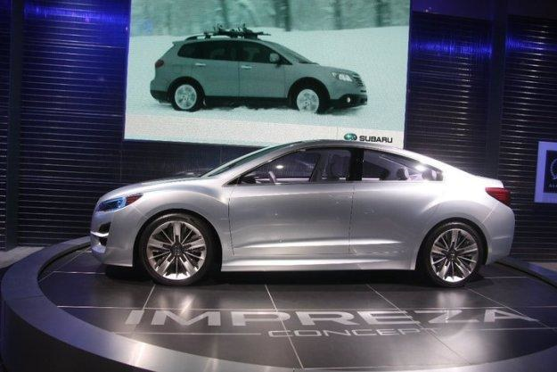 Subaru impreza concept /INTERIA.PL