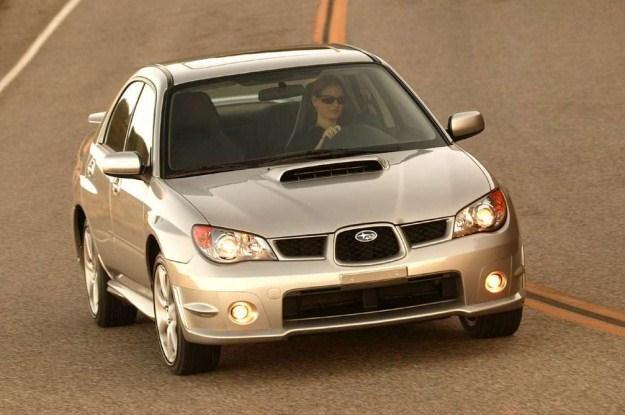 Subaru impreza to kultowe auto o napędzie 4x4 /