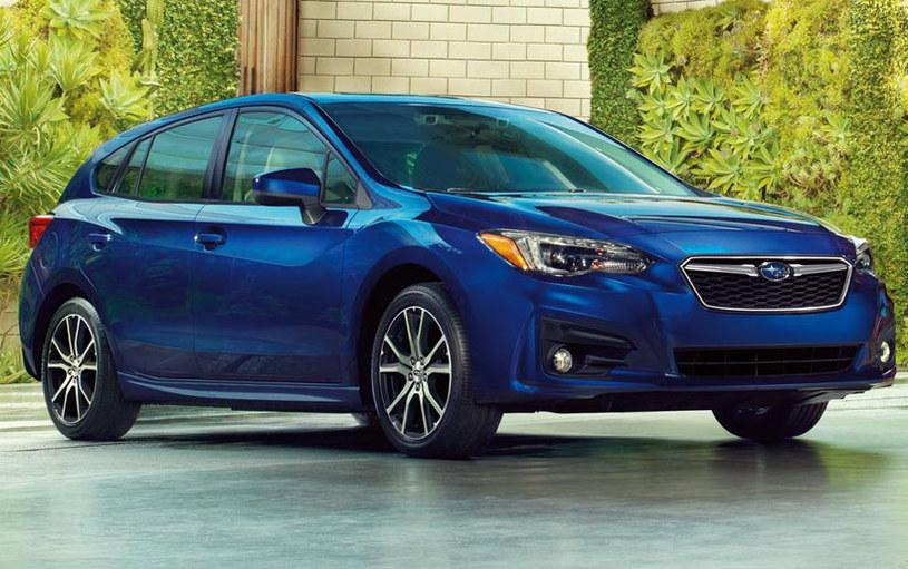 Subaru Impreza, wersja na rynek amerykański /