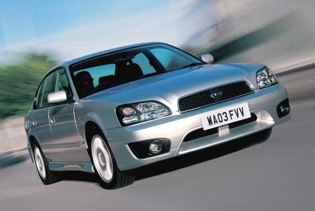 Subaru Legacy (kliknij) /INTERIA.PL