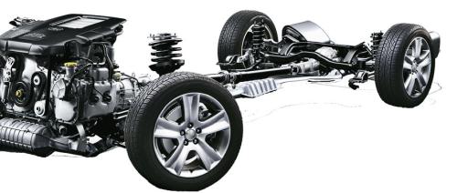 Subaru napęd /Motor
