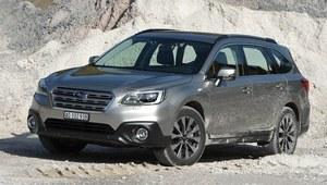 Subaru Outback - pierwsza jazda