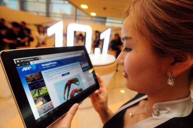 Sukces dotykowego interfejsu tabletów jest inspiracją dla wielu innowacyjnych pomysłów. /AFP