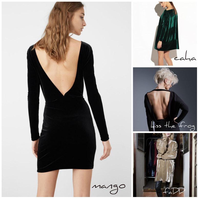 Sukienki do nabycia na stronach Mango i Showroom /Printscreen Mango/Showroom /INTERIA.PL/materiały prasowe