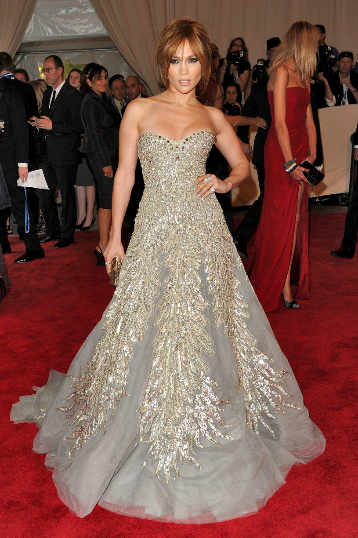 Suknia Jennifer Lopez  /Getty Images/Flash Press Media