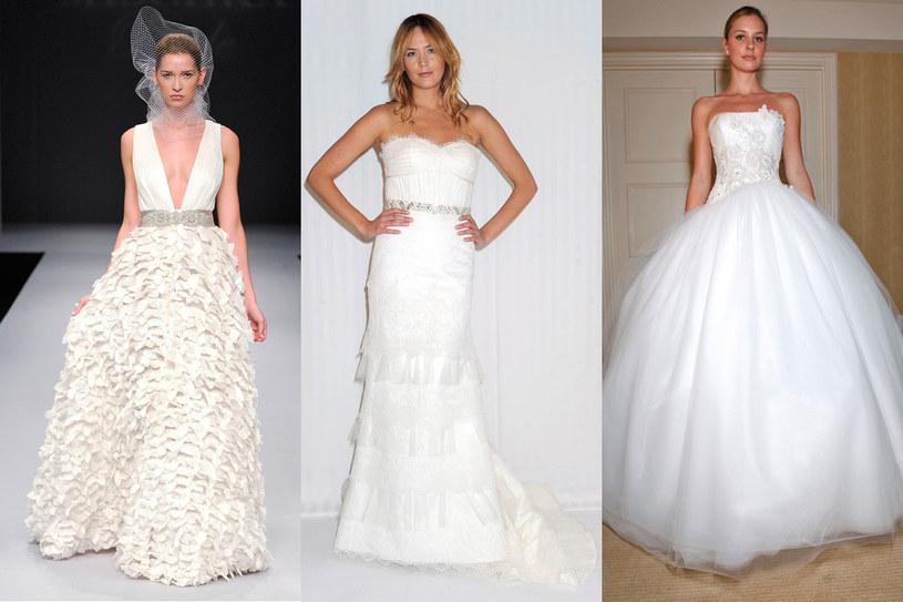 Suknia ślubna musi podkreślać twoje atuty, więc nie kopiuj tego, co zobaczyłaś u kogoś /East News/ Zeppelin
