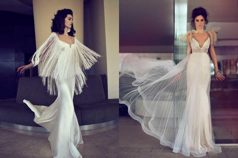 Suknie ślubne projektu Zahavit Tshuby /materiały prasowe
