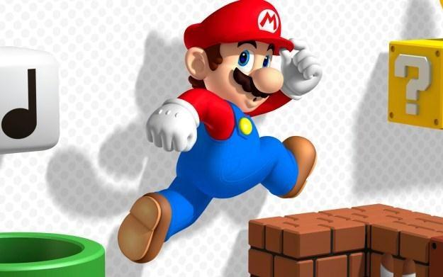 Super Mario 3D Land - motyw graficzny /Informacja prasowa