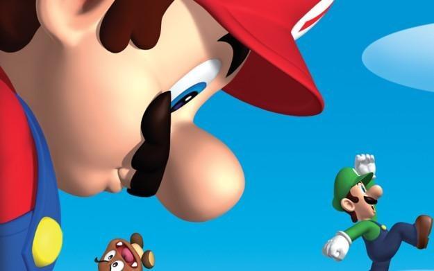 Super Mario Bros. - motyw graficzny /Informacja prasowa