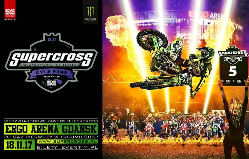 Supercross - King of Poland /Sportainment /materiały prasowe
