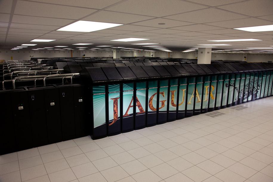 Superkomputer Jaguar, fot. nccs.gov