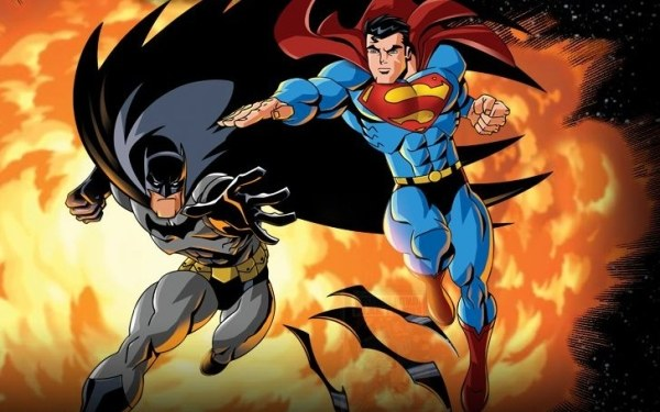 Superman/Batman: Public Enemies - fragment okładki DVD /Informacja prasowa