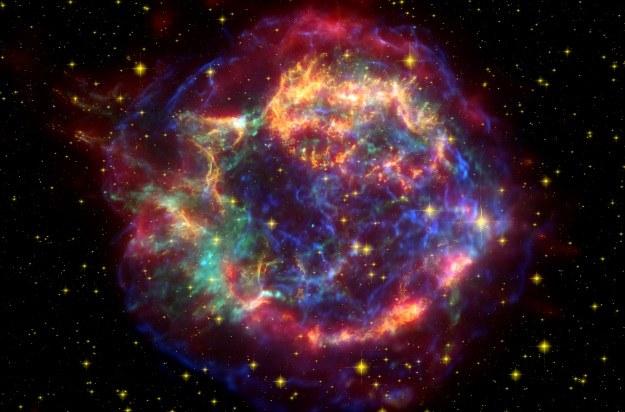 Supernowa.   Fot. NASA/JPL-Caltech/STScI/CXC/SAO /NASA