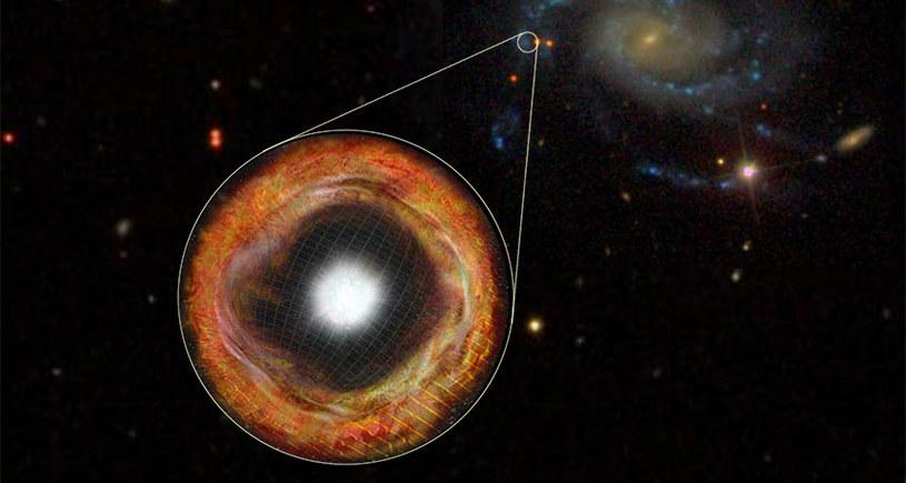 Supernowa SN 2013fs zaobserwowana 3 godziny po eksplozji /materiały prasowe