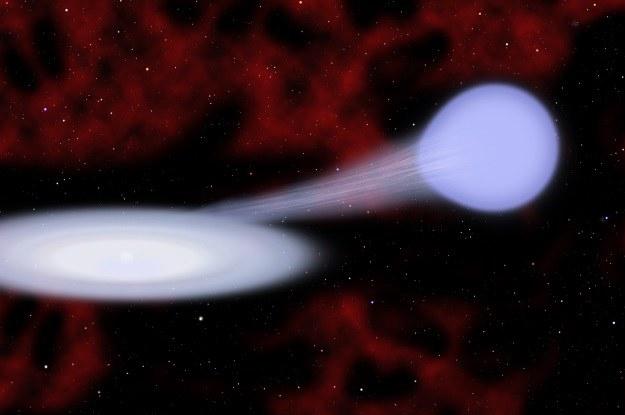 Supernowe typu Iax powstają z układów podwójnych /NASA