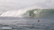 Surfer kontra ekstremalna fala