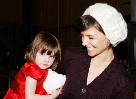 Suri i Katie Holmes /Getty Images/Flash Press Media