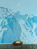 Surrealizm: René Magritte, Majątek Arnheim, 1962 /Encyklopedia Internautica