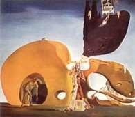 Surrealizm: Salvador Dalí, Narodziny płynnych życzeń, 1932 /Encyklopedia Internautica