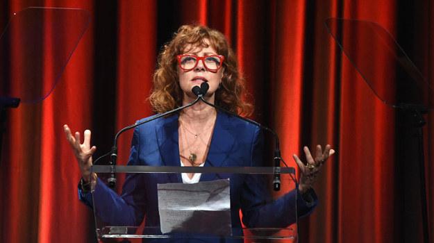 Susan Sarandon podczas gali honorującej aktora Iana McKellena /Dimitrios Kambouris /Getty Images