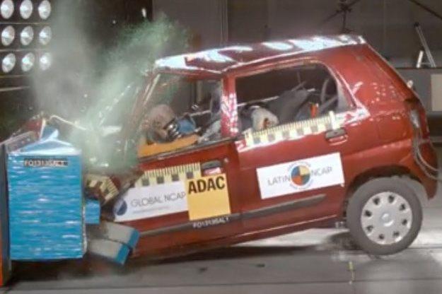 Suzuki Alto w teście Latin NCAP /