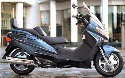 Suzuki AN 400 burgman /INTERIA.PL
