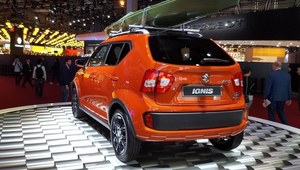 Suzuki Ignis pojawiło się w Paryżu