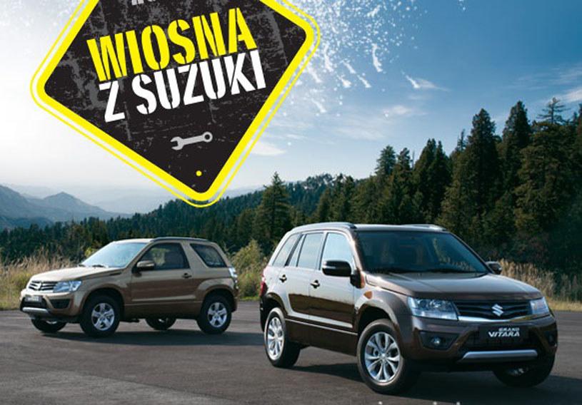 Suzuki przygotowało wiosenną ofertę /