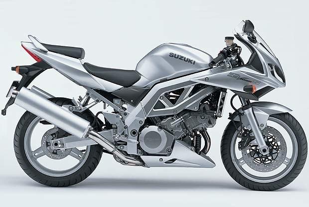 Suzuki SV 1000S (kliknij) /INTERIA.PL