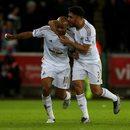 Swansea City - Liverpool FC 3-1 meczu 36. kolejki Premier League