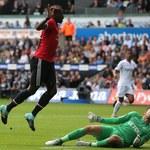 Swansea City - Manchester United 0-4 w 2. kolejce Premier League